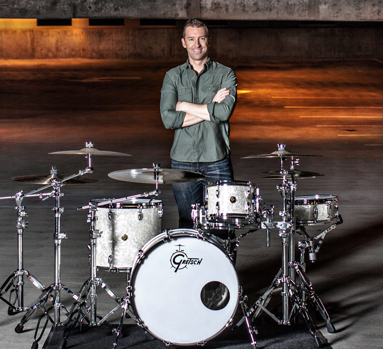 Mike Johnston Gretsch Drums