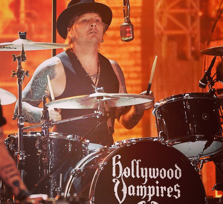 Matt Sorum Gretsch Drums