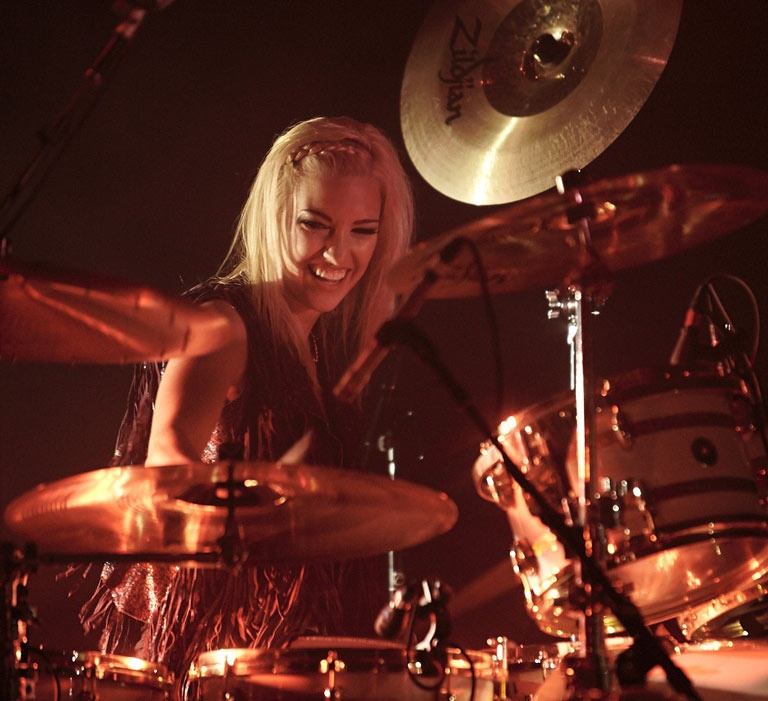 Hannah Ford Welton Gretsch Drums