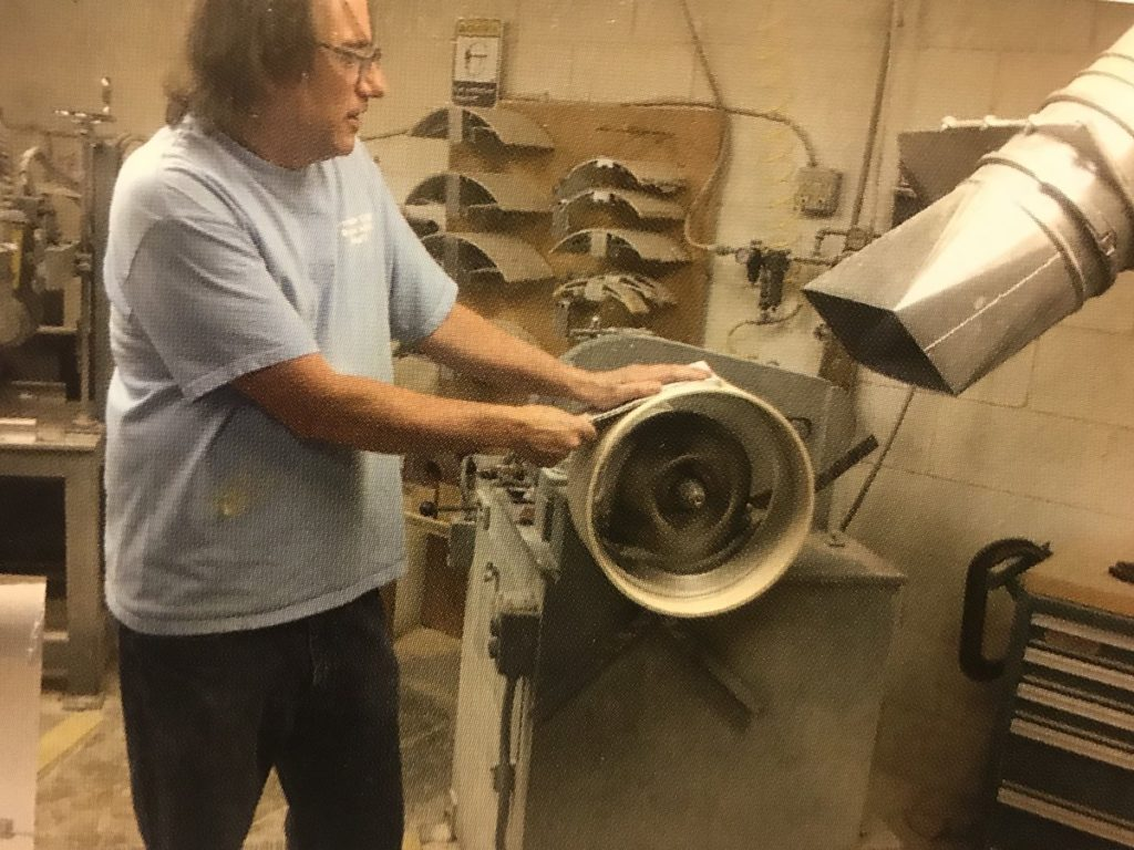 Gretsch still makes drums by hand in South Carolina.